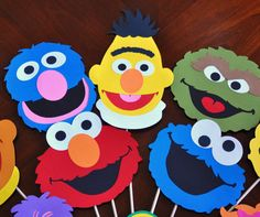 Sesame Street Birthday Party Decorations Sesame por DesignsByDodi