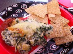 Game Day Spinach & Artichoke Dip | The Artful Gourmet