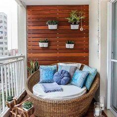 Стильный дом - Летние идеи для балкона