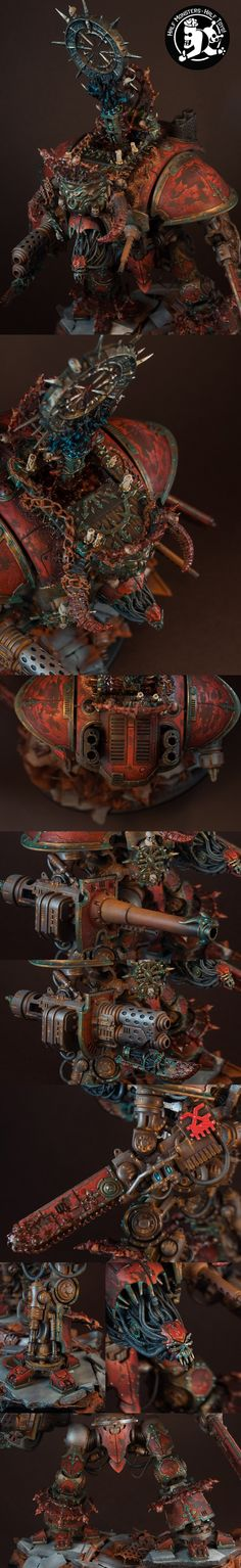 Imperial Knight of Khorne closeups