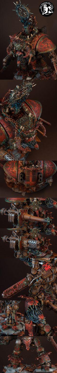 Imperial Knight of Khorne closeups