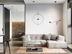 Surprising 15 Beegcom Top Interior Design Firms Calgary, Home Decor Online Au Small Apartment Interior, Small Apartment Design, Cozy Apartment, Small Apartments, Small Spaces, Interior Design Colleges, Loft Interior Design, Best Interior, Interior Designing
