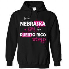 NEBRASKA-PUERTO RICO girl 03HPink - #tshirt typography #sweatshirt cutting. ADD TO CART => https://www.sunfrog.com/States/NEBRASKA-2DPUERTO-RICO-girl-03HPink-Black-Hoodie.html?68278