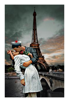French kiss. 140 x 80 cm.-