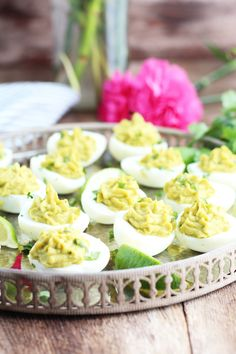 These Avocado Deviled Eggs are packed with flavor and so much better than the traditional recipes.  Sorry regular old deviled eggs, you are no longer needed in my recipe arsenal!  No worries…these are super easy to make with the addition of avocado, cilantro, a bit of spicy mustard and fresh lime juice.  Top it off with fresh cilantro...Read More »