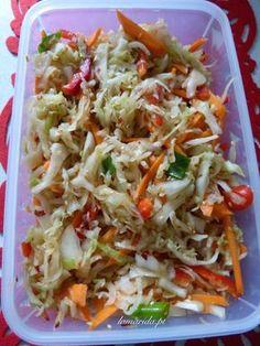 Salate Warm, Polish Recipes, Polish Food, Oriental Food, Kimchi, Food To Make, Cabbage, Grilling, Food And Drink