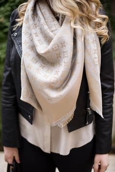 Louis Vuitton scarf | #stylish #trendy #cute