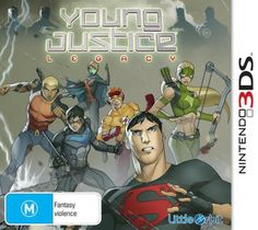 Young Justice: Legacy Box Front