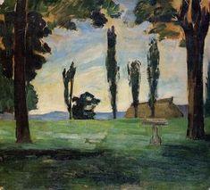 paysage 1 - (Paul Cezanne)