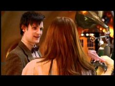 Adorable Doctor Who Deleted Scene - Doctor and Amy in the TARDIS, right after she joins him.