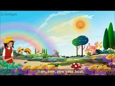 SPanish Nursery Rhymes - Row Row Row your boat - YouTube