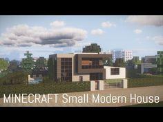Minecraft Small Modern House, Minecraft Modern City, Small Modern Home, Minecraft Projects, Shopping Mall, Multi Story Building, Map, Interior, Shopping Center