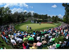 The fifth green is seen during the Par 3 Contest prior to the start of the 2014 Masters Tournament at Augusta National Golf Club on April 9, 2014 in Augusta, Georgia. (Photo by Andrew Redington/Getty Images)