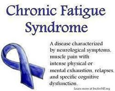 Chronic Fatigue Syndrome this is a wonderful short definition on CFS