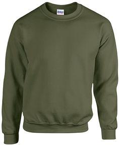 Passt perfekt.  Bekleidung, Herren, Sweatshirts & Kapuzenpullover Mens Clothing Styles, Men's Clothing, Der Arm, Shirt Sale, Formal Shirts, Green Sweater, Military Green, Mens Sweatshirts, Fashion Outfits