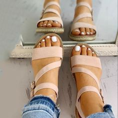 Buy 2 items Get 1 item at off(Code:shopping) Size Chart Details Occasion:Daily,Casual Gender:Women Heel Height:Lo Women's Shoes, Cute Shoes, Wedge Shoes, Me Too Shoes, Shoe Boots, Aldo Shoes, Golf Shoes, Open Toe Flats, Studded Heels