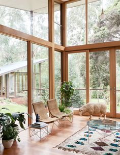 inside casa warrandyte.