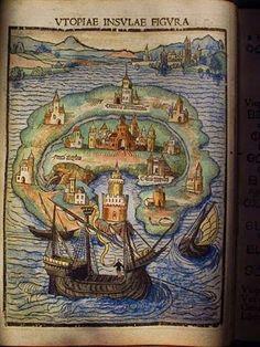 Soy Bibliotecario: Primera edición de Utopía de Thomas More