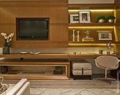 painel tv e home office - Pesquisa Google