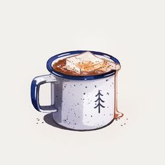 Time Blur | advent calendar - day 12 hot cocoa
