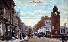 High street Bangor 1910's