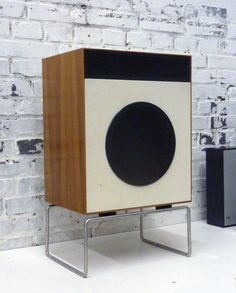 L2 speakers with stand Dieter Rams Braun