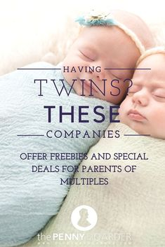 If you're having twins or other multiples, help is on the way! Learn how you can save on diapers and formula with multiple births programs from big-name brands. - The Penny Hoarder http://www.thepennyhoarder.com/having-twins-special-deals-for-multiples/