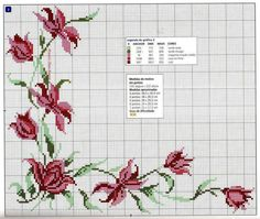 This Pin was discovered by Cey Cross Stitch Boards, Simple Cross Stitch, Cross Stitch Flowers, Seed Bead Patterns, Beading Patterns, Embroidery Patterns, Cross Stitching, Cross Stitch Embroidery, Cross Stitch Patterns