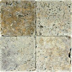Found it at Wayfair - Tuscany Scabas x Tumbled Travertine Tile in Tumbled Yellow Granite Tile Countertops, Travertine Tile, Flooring Sale, Slate Flooring, Cottage Kitchen Tiles, Buy Tile, Best Floor Tiles, Tuscan Style, Wall Tiles
