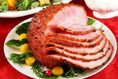 You'll be surprised how easy it is to make this ham glaze. Your kids will love helping you in the kitchen when they find out this recipe uses peach soda! No Dairy Recipes, Ham Recipes, Cooking Recipes, Sundae Toppings, Whole Ham, Honey Glazed Ham, Venezuelan Food, Ham Glaze, Canned Peaches