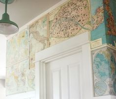 MAP ROOM OMG...can't get link, but a perfect option for a map-obsessed person like me!