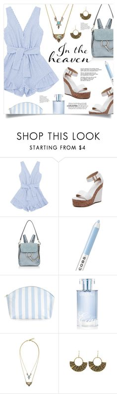 """""""Pretty Romper"""" by mahafromkailash ❤ liked on Polyvore featuring Chloé, Marc Jacobs, Catherine & Jean and Orlane"""
