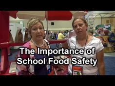 Food Safety in Schools - interview with foodservice operators from Florida. Food Safety Tips, School Interview, Healthier Together, Food Science, Food Service, Happy Life, Schools, Healthy Life, Health Care