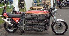 48-Cylinder Kawasaki Pushes Boundaries Of Sanity