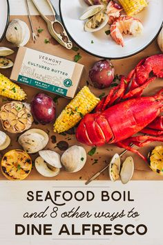 Seafood Boil Recipes, Shellfish Recipes, Boiled Food, Fresco, Cooking Recipes, Healthy Recipes, Seafood Dinner, Along The Way, Seafood