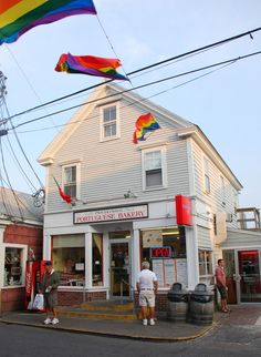 Provincetown Portuguese Bakery in Provincetown, Massachusetts-Cape Cod. The best fried dough ever!!