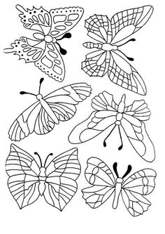 Butterfly - 999 Coloring Pages