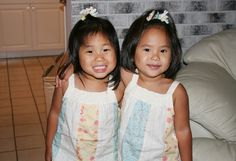 Long-Lost Sisters  In July 2004, Holly and Doug Funk, an Illinois couple raising five children, decided to adopt a baby girl from China who had been abandoned at a textile factory. They named her Mia. Hundreds of miles away in Florida, Diana and Carlos Ramirez, parents of two sons, traveled to China to bring their 2-year-old daughter, who they also named Mia, home from China in October 2005.