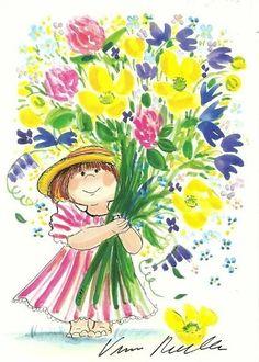 Watercolor Flowers, Watercolor Art, Stick Figure Drawing, Paisley Art, Illustration Art Drawing, Pin Art, Whimsical Art, Cute Drawings, Cute Art