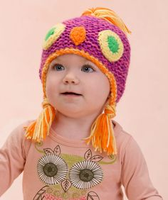 Make Me an Owl Hat - free pattern from Red Heart
