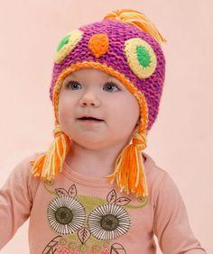 Make Me an Owl Hat- - free pattern