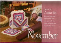 Lattice Coaster Set 1/2