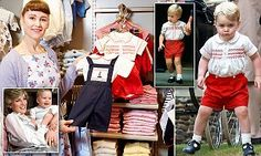 Kate Middleton's children's clothes designer says Diana inspired Prince George outfits | Daily Mail Online