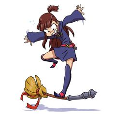 Another one from Little Witch Academia.
