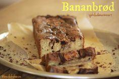 Bananbrød med sjokolademarmor   Bondefrøken