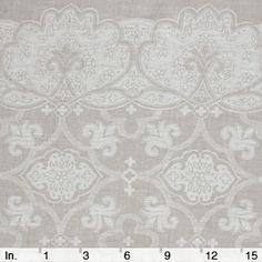 "Fabrics-store.com: 100% linen jacquard 75"" wide $18.75/yd. (6.6oz/yd)"