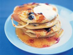 Jamie Oliver USA style pancakes-seriously people these are to die for