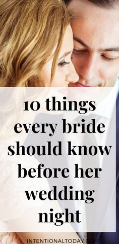 My husband and I knew we were tired. Plus I was recovering from chicken pox, so my tiredness was on the double. Our plan for the honeymoon night was dinner, lots of cuddles, massage, plenty of rest and sleep. But things didn't go the way we had planned. Here are 10 things I wish I knew aka what every bride must know about the wedding night for a more glorious start to married life #wedding #weddingnight #bride #groom #intentionaltoday #sex #marriedsex #intentionaltoday
