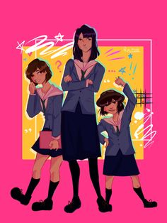 long nights, daydreams - new fave dumbass trio Easy Breezy Beautiful Covergirl, Anime Manga, Anime Art, Popular Anime, Best Waifu, Art Memes, Art Reference Poses, Awesome Anime, Geek Culture
