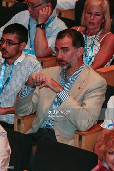 King Felipe VI of Spain attends the 'Forum Impulsa' at the Auditori of Girona on June 26, 2015 in Girona, Spain.